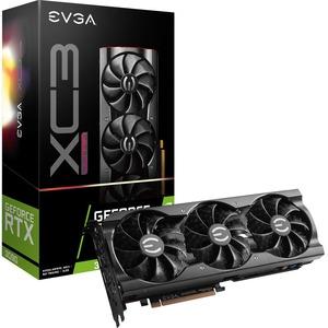 EVGA NVIDIA GeForce RTX 3090 Graphic Card - 24 GB GDDR6X - 1.73 GHz Boost Clock - 384 bit Bus Width - DisplayPort - HDMI GDDR6X ICX3 COOLING ARGB LED
