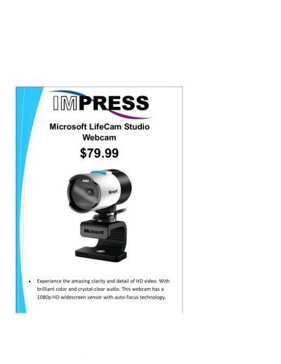 Microsoft LifeCam Studio 1080p Webcam