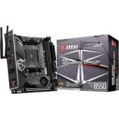 MSI MPG B550I GAMING EDGE WIFI Desktop Motherboard - AMD Chipset - Socket AM4 - Mini ITX - 64 GB DDR4