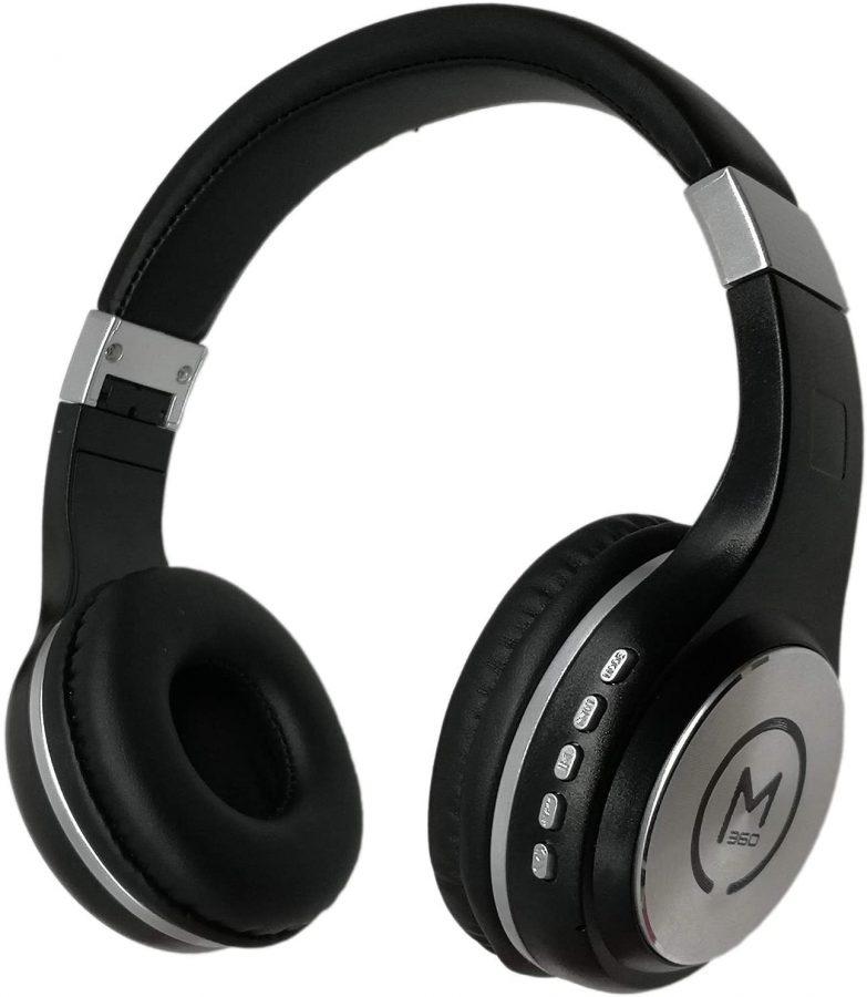 Morpheus360 Stereo Wireless/Bluetooth Over Ear Headset w/ Mic