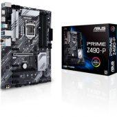ASUS PRIME Z490-P LGA1200 4DDR4 64MAX x2 M.2 HDMI DP