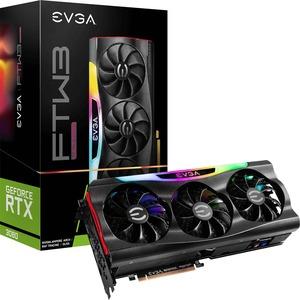 EVGA NVIDIA GeForce RTX 3080 Graphic Card - 10 GB GDDR6X - 1.80 GHz Boost Clock - 320 bit Bus Width - PCI Express 4.0 - DisplayPort - HDMI GDDR6X ICX3 TECHNOLOGY ARGB LED