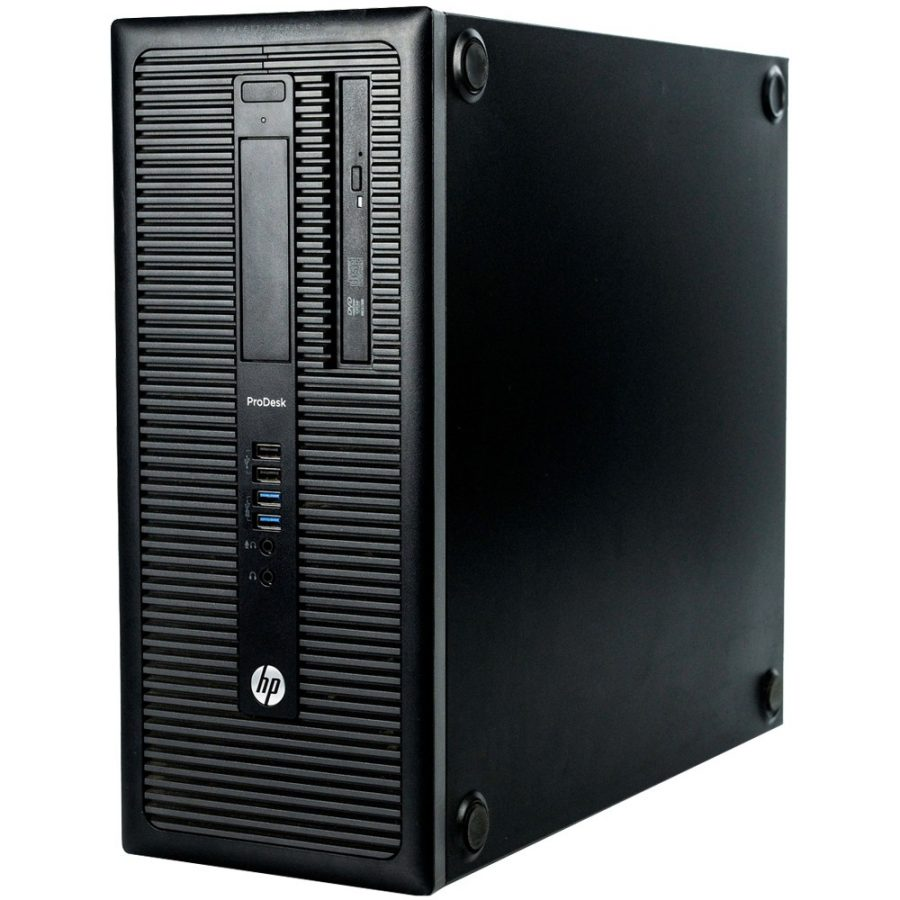 HP Prodesk 600 G1 i5 4th Gen 8GB-New 500GB SSD-Tow-W10P