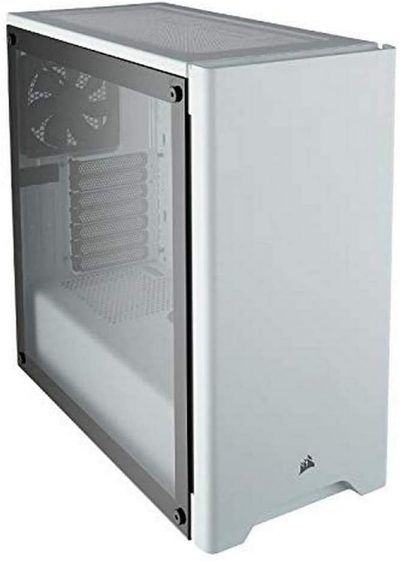 Corsair Carbide 275R MidTower Window Case 5Bay 7Slot White