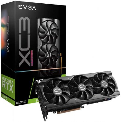 Real Boost Clock: 1770 MHz; Memory Detail: 8192 MB GDDR6. Real-time ray tracing in games for cutting-edge, hyper-realistic graphics. Triple HDB Fans iCX3 Technology offer higher performance cooling and much quieter acoustic noise. All-metal backplate & adjustable ARGB 3 year warranty & EVGA's top notch technical support.