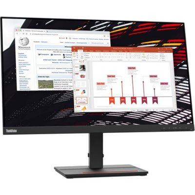 "Lenovo ThinkVision 23.8"" LED Monitor 1920x1080 HDMI VGA"