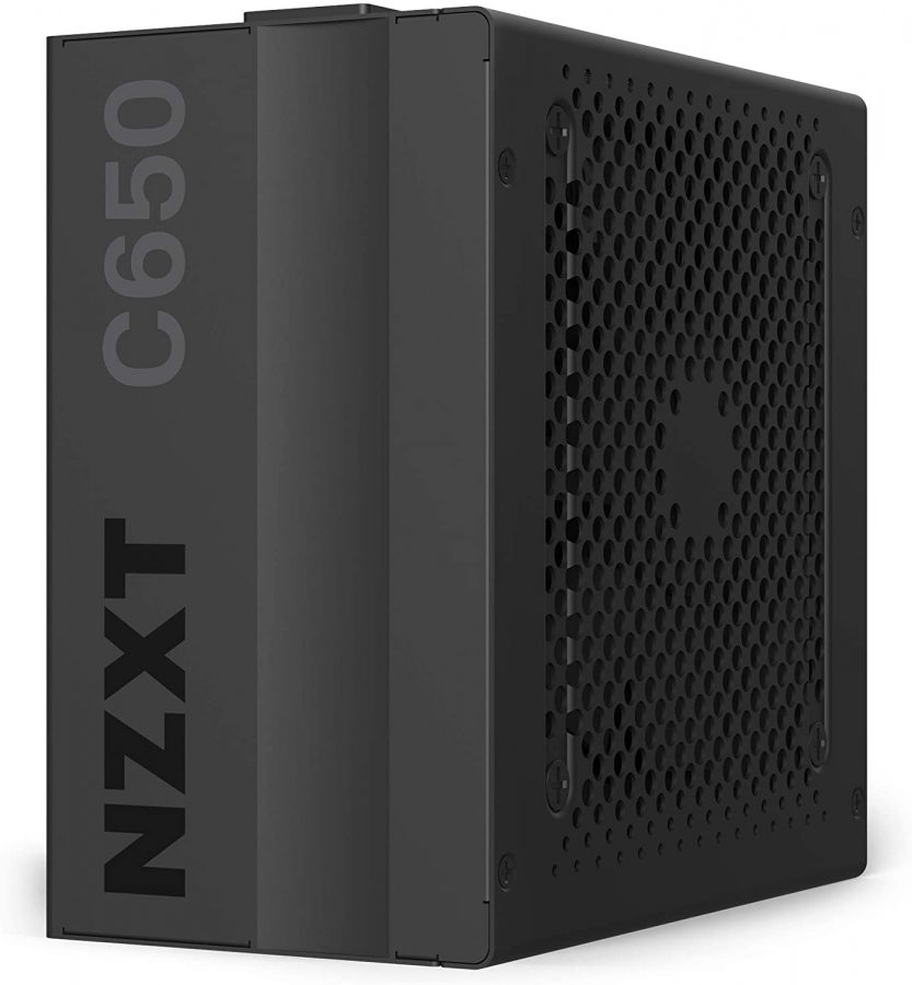 NZXT C650 NP-C650M 650 Watt PSU 80+ Gold Certified Hybrid