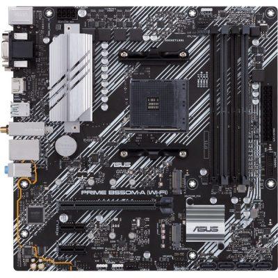 ASUS Prime B550M-A AMD Ryzen AM4 DDR4 HDMI DVI VGA M2 WiFi