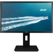 "Acer 24"" LED Monitor 1920X1080 B246HL ymdpr VGA DVI DP Spkrs"