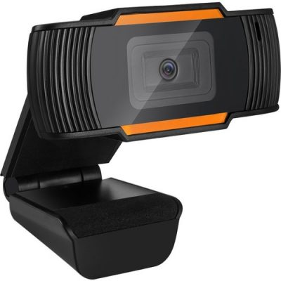 """Description Adesso CyberTrack CyberTrack H2 Webcam - 0.3 Megapixel - 30 fps - Black - USB 2.0 - 640 x 480 Video - CMOS Sensor - Fixed Focus - Microphone - Computer, Notebook, Smart TV 300K CMOS SENSOR 640X480 RES The Adesso CyberTrack H2 desktop webcam features 480p video resolution that allows you to record and share colorful VGA quality video. The webcam is compatible with most business video conferencing applications. The webcam includes an integrated microphone that lets your voice be heard loud and clear, whether you are chatting with loved ones or conducting a business video conference. With all these great features, you can easily record and transmit your videos to everyone! 480p High Definition Video Resolution 300K pixel CMOS Sensor Video Conferencing Built-In Microphone More from the Manufacturer Guides & Documents Brochure Specifications are provided by the manufacturer. Refer to the manufacturer for additional explanations. Product may not be exactly as shown. Technical Specs Built-in Devices Microphone Yes Interfaces/Ports Host Interface USB 2.0 Lens Focus Modes Fixed Focus Warranty Limited Warranty 1 Year Lifetime Display & Graphics Effective Resolution 0.3 Megapixel Maximum Video Resolution 640 x 480 Maximum Frame Rate 30 fps Image Sensor Type CMOS Miscellaneous Device Supported Smart TV Computer Notebook Country of Origin China Environmentally Friendly Yes Environmental Certification RoHS Physical Characteristics Weight (Approximate) 2.72 oz Color Black Height 2"""" Width 2.2"""" Depth 2.2"""" General Information Product Type Webcam Manufacturer Part Number CYBERTRACK H2 Manufacturer Website Address http://www.adesso.com Manufacturer Adesso, Inc Product Model CyberTrack H2 Product Name 480P USB Webcam with Built-In Microphone Product Line CyberTrack Brand Name Adesso"""
