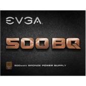 EVGA 500 BQ/BA ATX12V 500W Bronze Modular Power Supply
