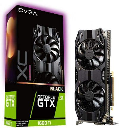 EVGA GeForce GTX 1660ti XC Black 6GB GDDR6 06G-P4-1265-KR