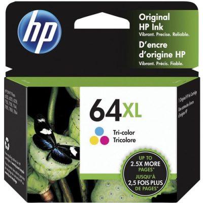 HP 64XL OEM Color High Capacity Ink Cartridge 415pg N9J91AN