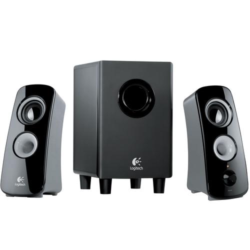 Logitech Z323 Multimedia 2.1 Speaker System w/subwoofer 30W