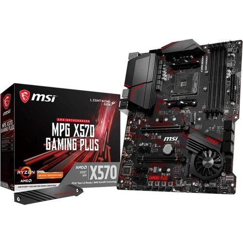 MSI MPG X570 Gaming Plus AMD Ryzen AM4 DDR4 HDMI DVI VGA M.2