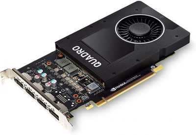 1280 CUDA Cores deliver powerful graphics and compute performance 5 GB of fast GDDR5x GPU memory holds large models or scenes Ideal for 3D Design and FHD video editing, and medical imaging systems (ultrasound) Drives up to four displays at 5K resolution with 30-bit color Compatible with NVIDIA CUDA, NVIDIA nView and Mosaic