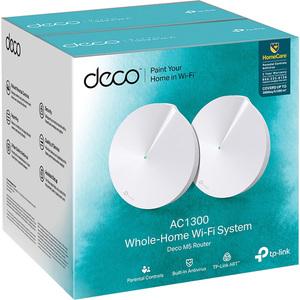 TPLink Deco M5 AC1300 MU-MIMO DualBand Whole Home Wi-Fi 2-PK