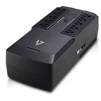 V7 UPS 550VA 10-Outlet USB 632 Joules 3YR Warranty