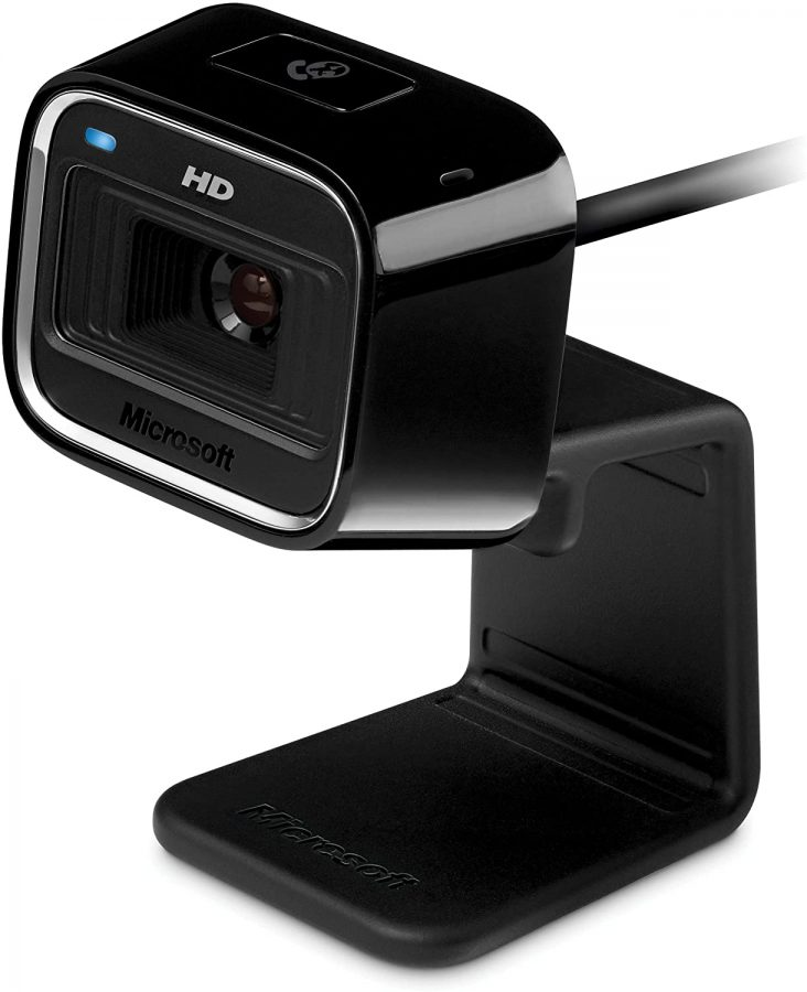Microsoft LifeCam HD-5000 4 MP Webcam w/auto-focus &TruColor