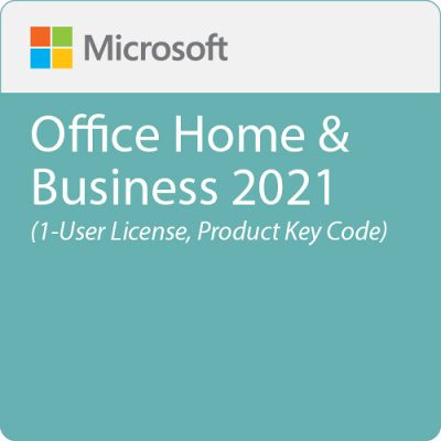 Microsoft Office 2021 Home & Business - Box Pack - 1 License